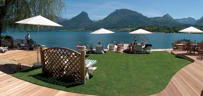 Hotel Furian, St. Wolfgang, Salzkammergut, Austria - lakeside view from the hotel.jpg